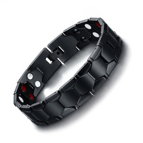 Stainless Steel Magnetic Therapy Bracelet