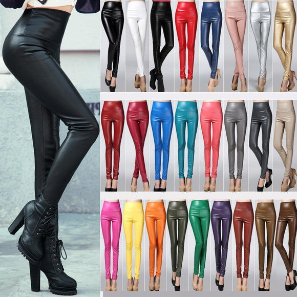 Leggings cuir 2019 - itpstyle