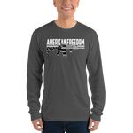 AMERICAN FREEDOM B&W LONG SLEEVE