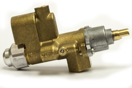 HPC - Hearth 109-C SAFETY PILOT VALVE COPRECI - 90k Btu, 300 deg. Valve w/Rear Inlet. Lowest Profile.