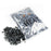 "10lbs Bag Black Fire Glass 1/2"" Premium Reflective"