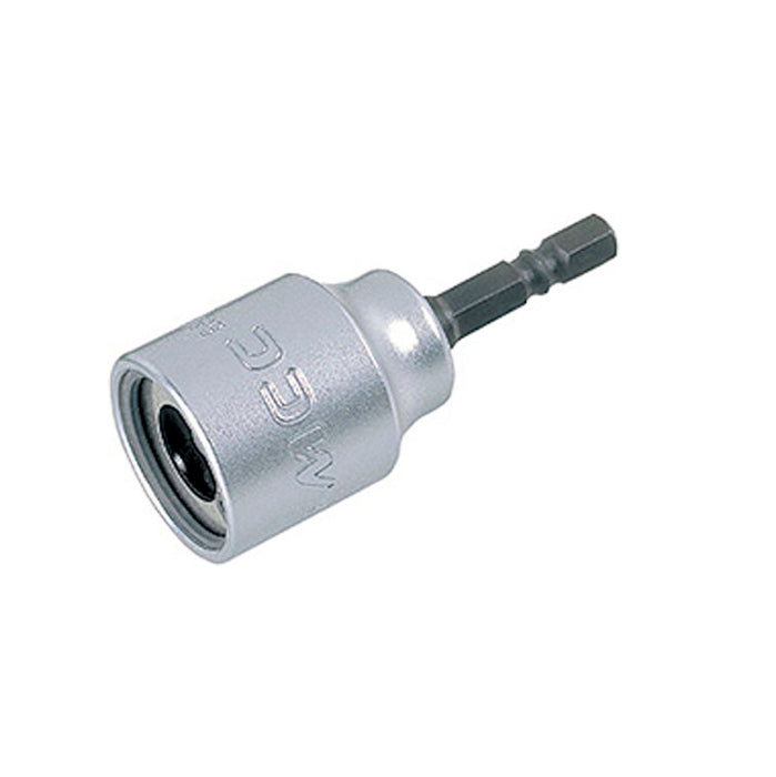 "MCC BSW-030 - 3/8"" Threaded Rod Socket for Power Drill - Tighten / Loosen Threaded Steel Rod Without Damage"
