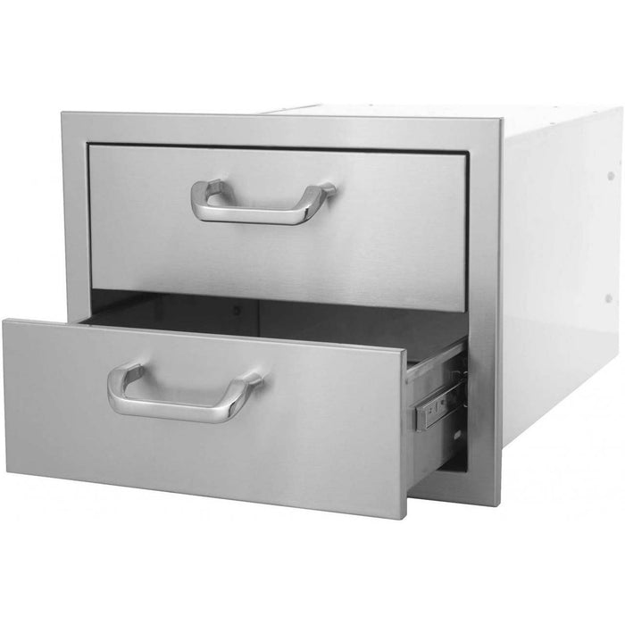 PCM-260 17X12.5 Double Access Drawer - Outdoor Cooking Island