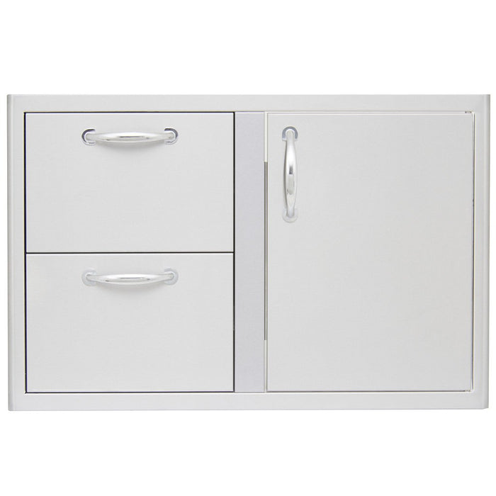 Blaze 32 Inch Access Door & Double Drawer Combo
