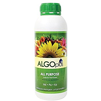 Flowering Plant Liquid Fertilizer - Algoplus (1 Liter)