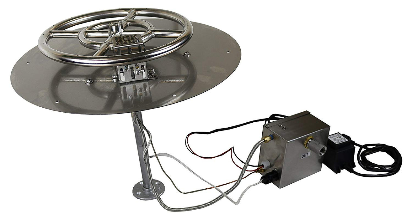 Weather Beater - Automatic Fire Pit Igniter, Outdoor Control System - Electronic Flame Ignition