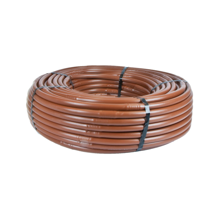 "17mm Soaker Hose Drip Tubing - 12"" Spacing 1 GPH With Check Valve Pressure Compensating (100') DIG, A1-112P-CV"