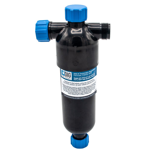 "DIG 1 Pint Proportional Fertilizer Injector FHT x MHT without ¾"" Backflow Device AFI 5016-H"
