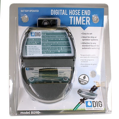 DIG B09D Digital Hose End Watering Timer
