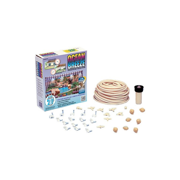 DIG BC140 - Ocean Breeze Small Patio Mist Cooling Kit
