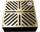 "Sinnov Premium Universal Paver Drain Grate Fits 3 & 4"" Inch Pipe - Brass"
