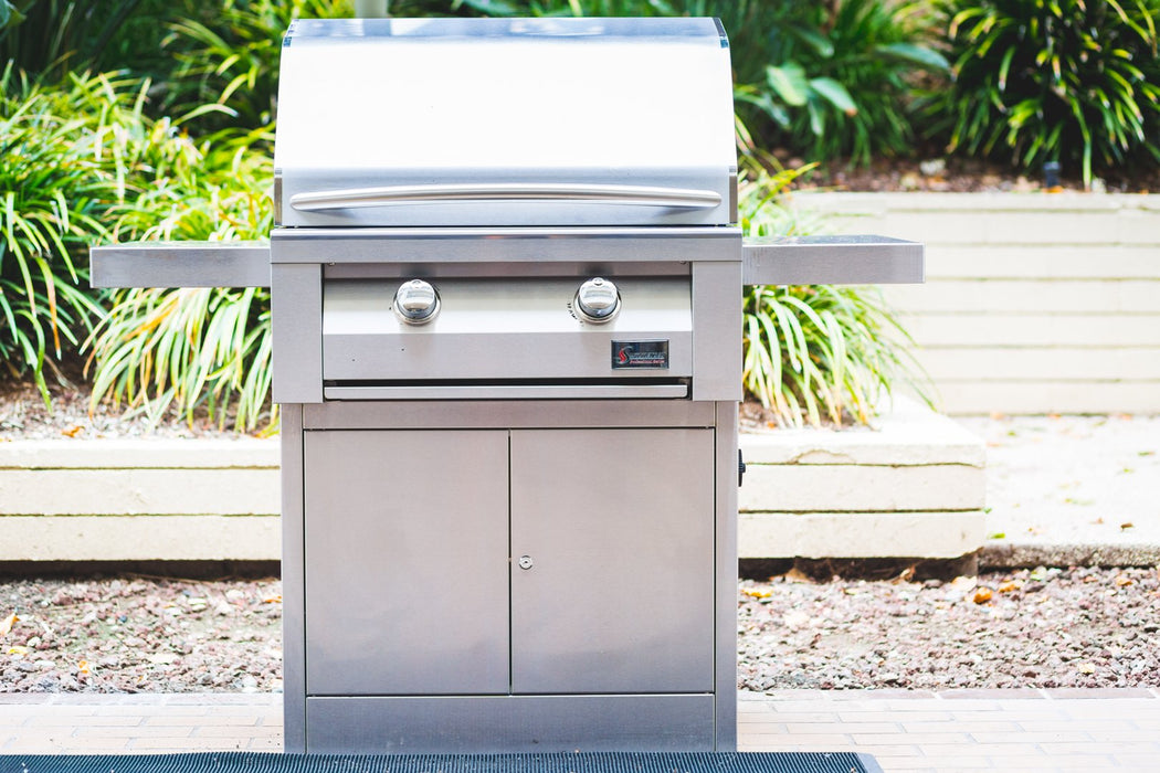 """BUILDER"" 30 Built-In Apartment / Commercial Stainless Steel BBQ Grill - Summerset SBG30-NG"