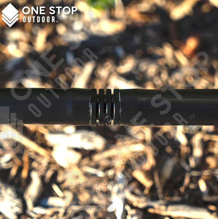 "1/2"" Inch Barbed Drip Line Irrigation Coupling Connector 16mm"