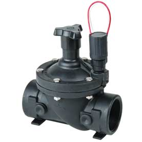 DC solenoid on 3/4 in  in-line irrigation valve - DIG - 305DC-075 - DC