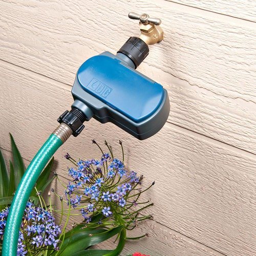 EVO 100 Waterproof Solar Powered Digital Hose End Watering Timer (tap timer)