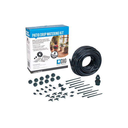 DIG FM01AS - Patio Drip Irrigation Watering Kit (10 Containers)