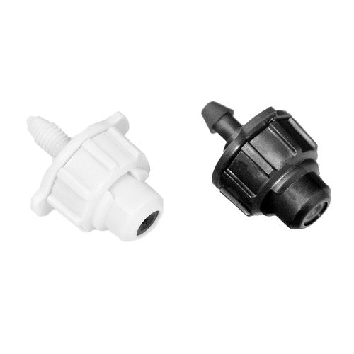 DIG .8GPH - Low Flow Misting Fogger Nozzle With Barb (100 Pack) 07-044