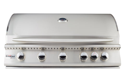 "SIZZLER 40"" BUILT-IN OUTDOOR BBQ GRILL - SUMMERSET SIZ40-LP, SIZ40-NG"