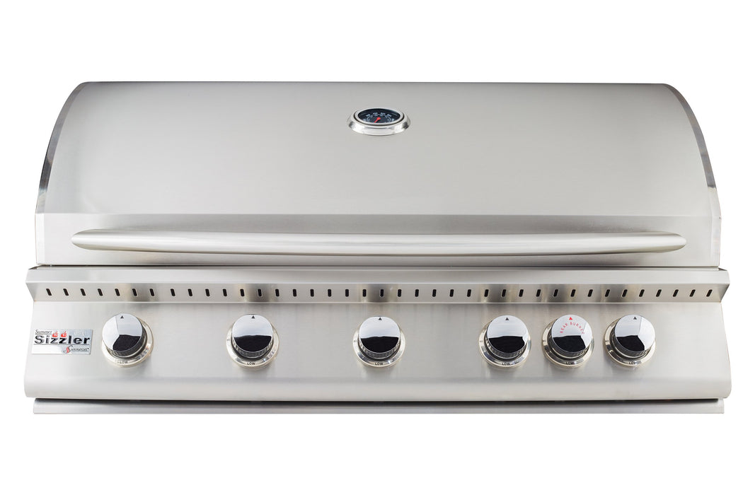 SIZZLER 40‰Û_ BUILT-IN OUTDOOR BBQ GRILL - SUMMERSET