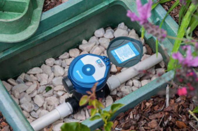 DIG 410BT-ASV Bluetooth Battery Operated Irrigation Controller With 3/4 Anti-Siphon Valve