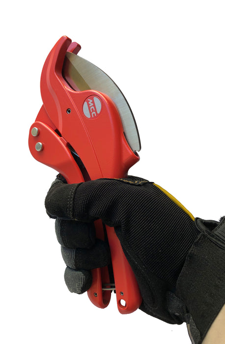 "MCC VC-0348 - PVC & CPVC Pipe Cutter Ratcheting (Quick Release) 1-1/2"" Professional Grade"