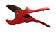 MCC VC-0363 - PVC, CPVC Pipe Cutter 2'' (up to 2-1/2 inches) One Hand, Quick Release - Contractor Grade