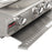 Blaze Professional 34-Inch 3 Burner Built-In Gas Grill With Rear Infrared Burner & Lights BLZ-3PRO