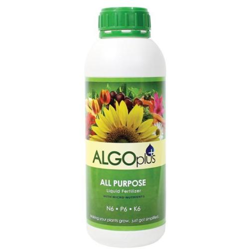 All Purpose Liquid Fertilizer with Micro Nutrients - Algoplus (1 Liter-5 Gallon)