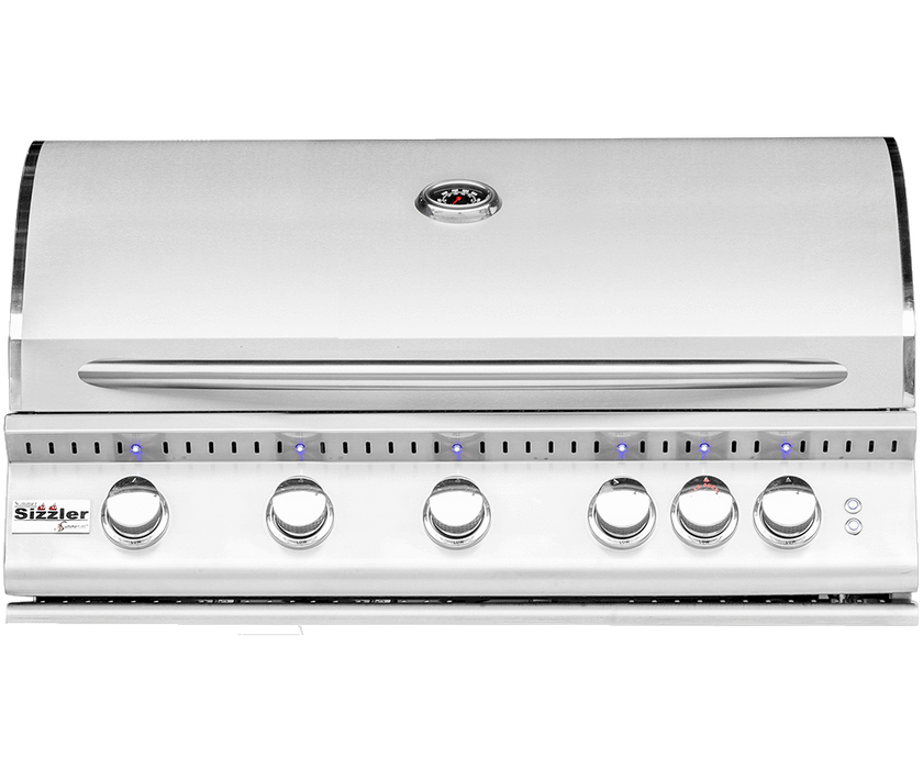 "SIZZLER PRO 40"" PREMIUM STAINLESS STEEL GRILL - SUMMERSET, SIZPRO40-NG, SIZPRO40-LP"