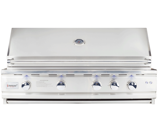 "TRL DELUXE* SERIES 44"" BUILT-IN OUTDOOR STAINLESS STEEL GRILL - Summerset TRLD44-LP, TRLD44-NG"