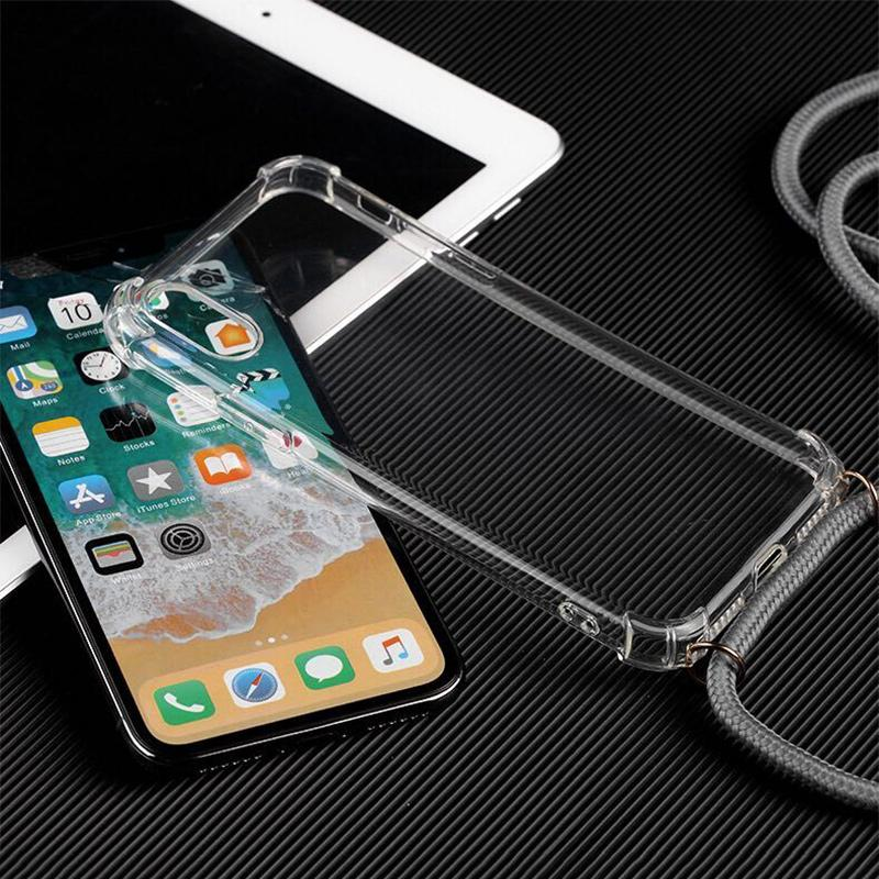 Necklace Rope Anti-Fall Case For iPhone 6 6S 7 8 X XS MAX XR