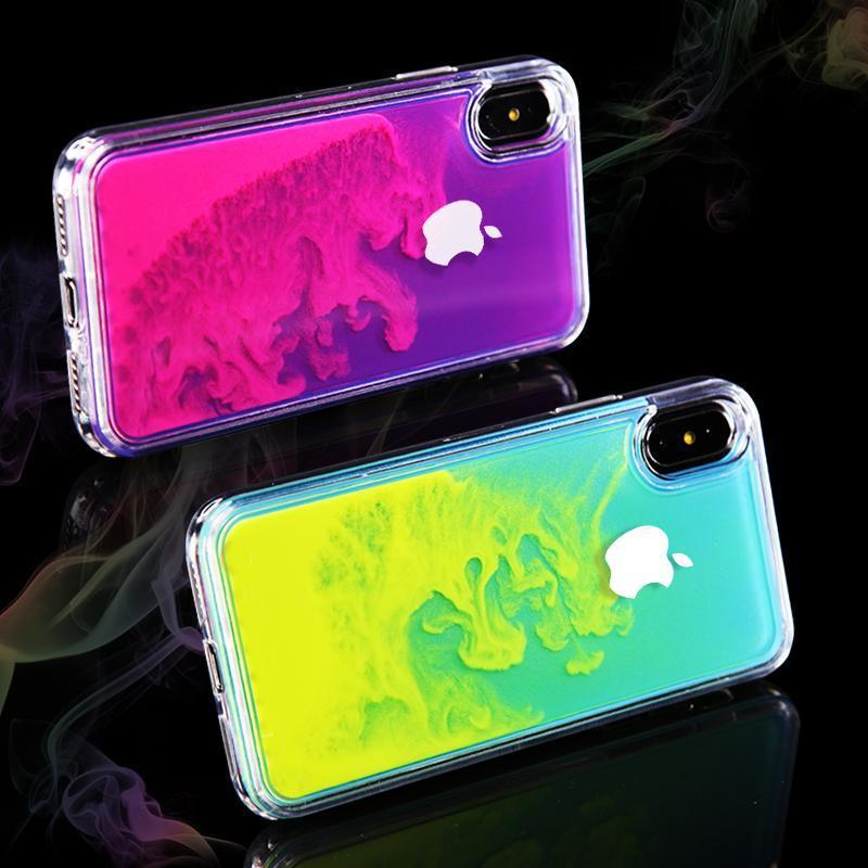 (Buy 2 Get 10%OFF & FREE SHIPPING)Original logo Shining Quicksand Cases For iPhone X/XS XS MAX XR 6/6S 6 Plus/6S Plus 7/8 7Plus/8Plus