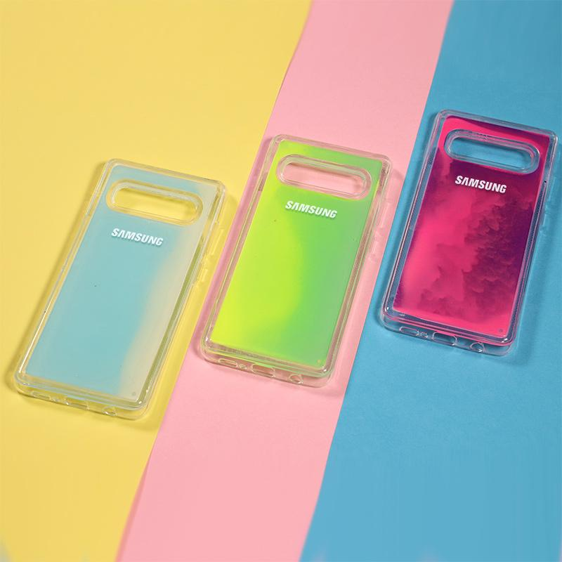 (Buy 2 Get 10%OFF!)Original logo Shining Quicksand Cases For SAMSUNG S9 S10 PLUS S10 E NOTE 8 9