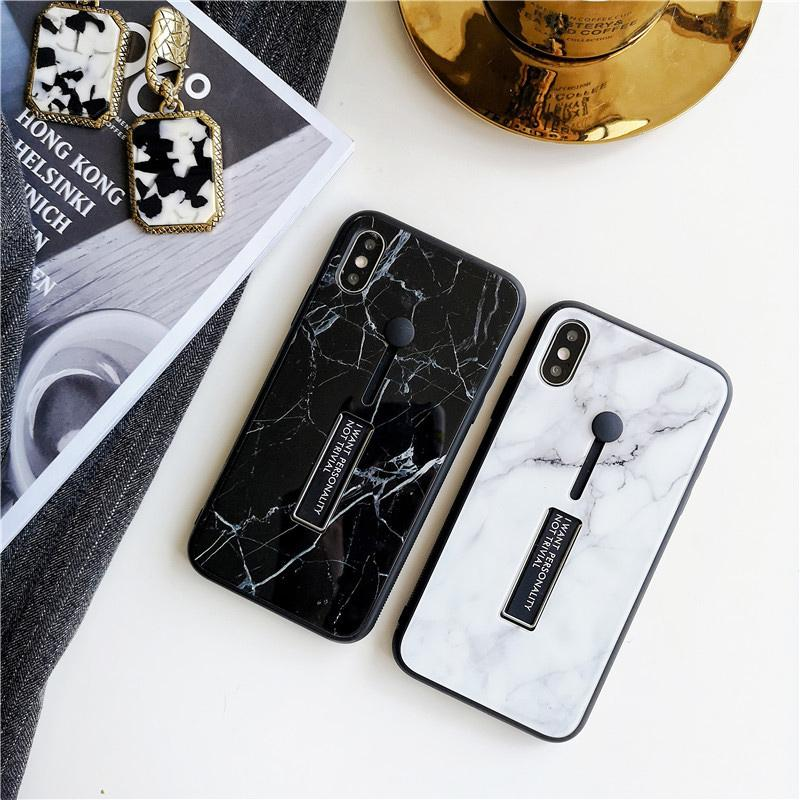 Luxury original anti-fall Marble Grain  For Iphone X Xs Xr Max Xs 6 6s 7 8 Plus