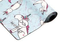 Load image into Gallery viewer, Unicorns Do Exist Premium Exercise Mat - Movéo Fit Co