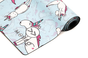Unicorns Do Exist Premium Exercise Mat - Movéo Fit Co