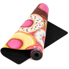 Load image into Gallery viewer, Whatever Sprinkles Your Donut Premium Exercise Mat - Movéo Fit Co