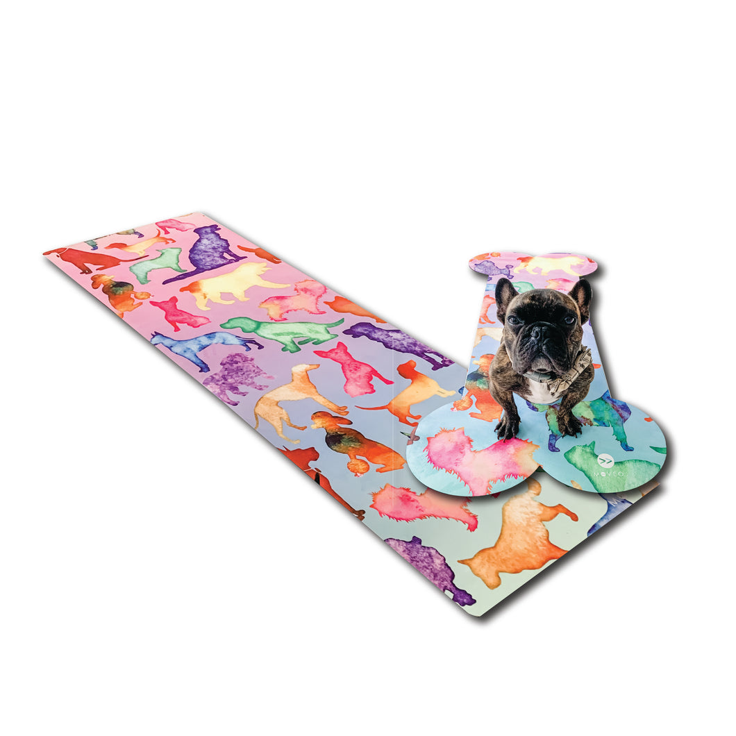 Dog Mama  + Me Mat Set