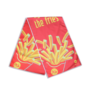 Eyes on the Fries Dual Sided Cooling Towel - Movéo Fit Co