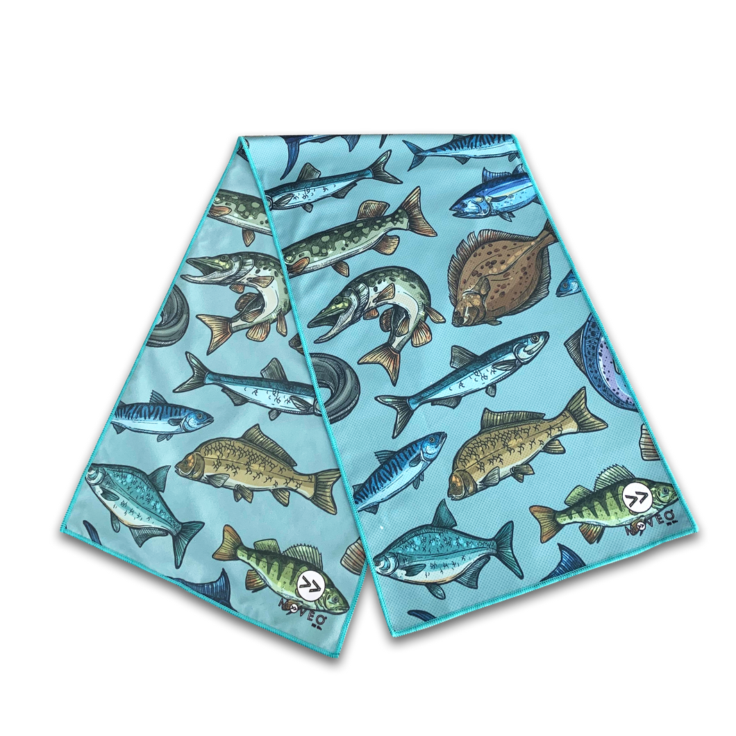 Gone Fishin' Dual Sided Cooling Towel
