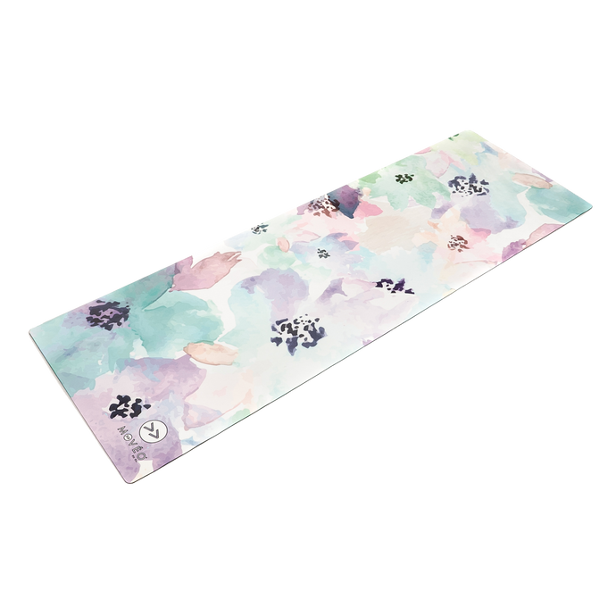 Fanciful Floral Premium Exercise Mat - Movéo Fit Co