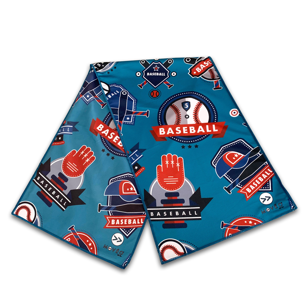 Baseball All Stars Dual Sided Cooling Towel