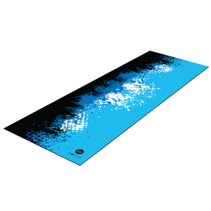 Abstract Ink Splatter Premium Exercise Mat
