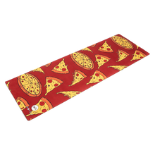 Load image into Gallery viewer, Pizza Party Premium Exercise Mat - Movéo Fit Co