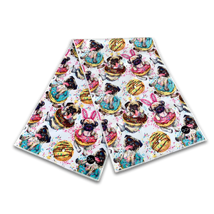 Dogs n Donuts Dual Sided Cooling Towel