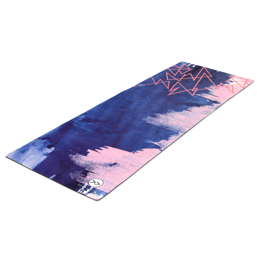 Rose Gold Revenge Premium Exercise Mat - Movéo Fit Co