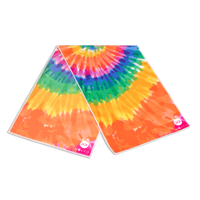 Tie Dye Dual Sided Cooling Towel