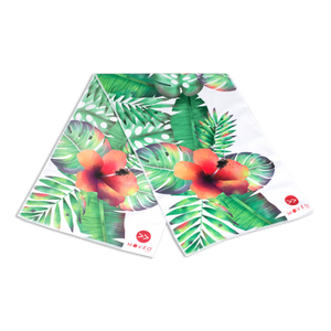 Tropical Floral Dual Sided Cooling Towel - Movéo Fit Co