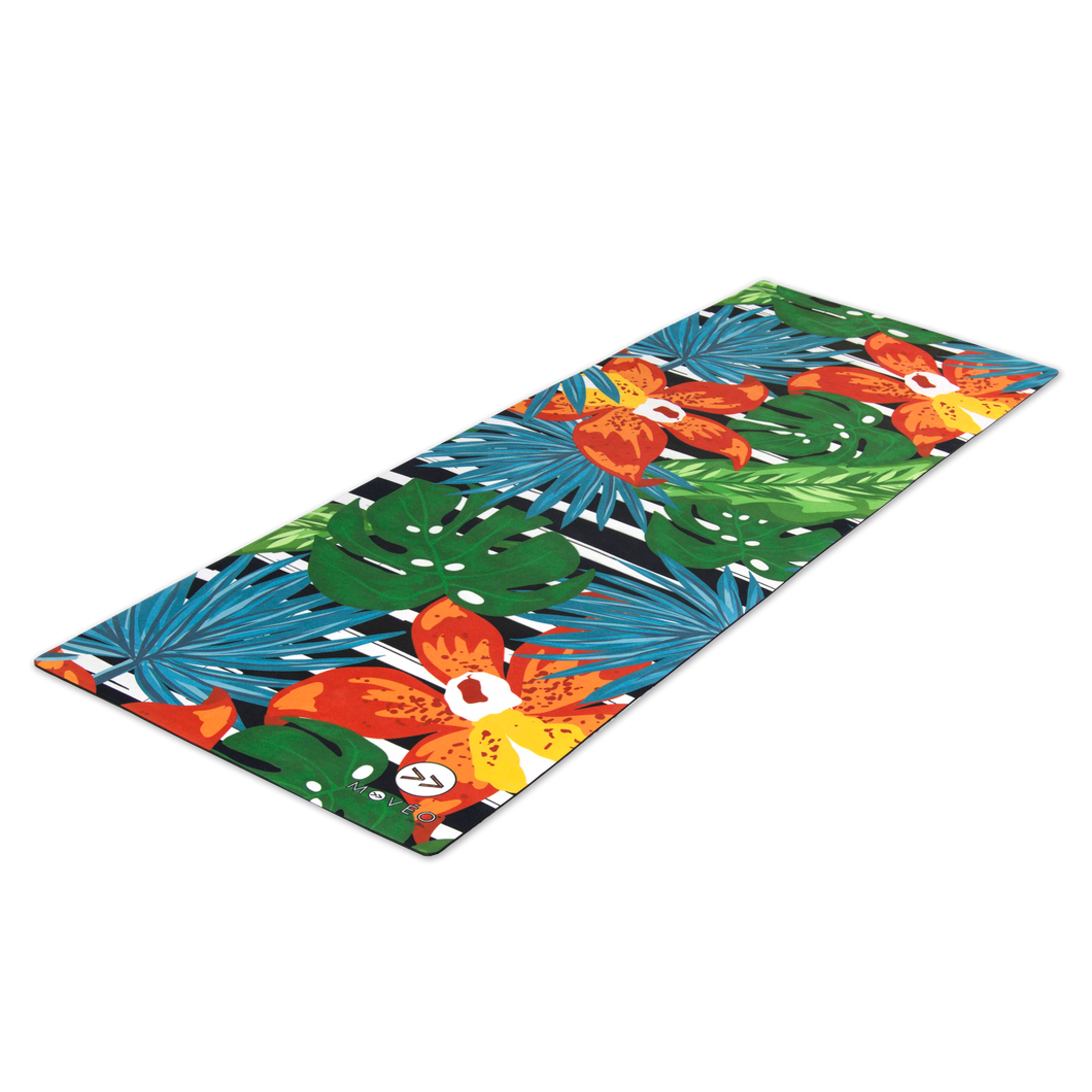 Truly Tropical Premium Exercise Mat - Movéo Fit Co