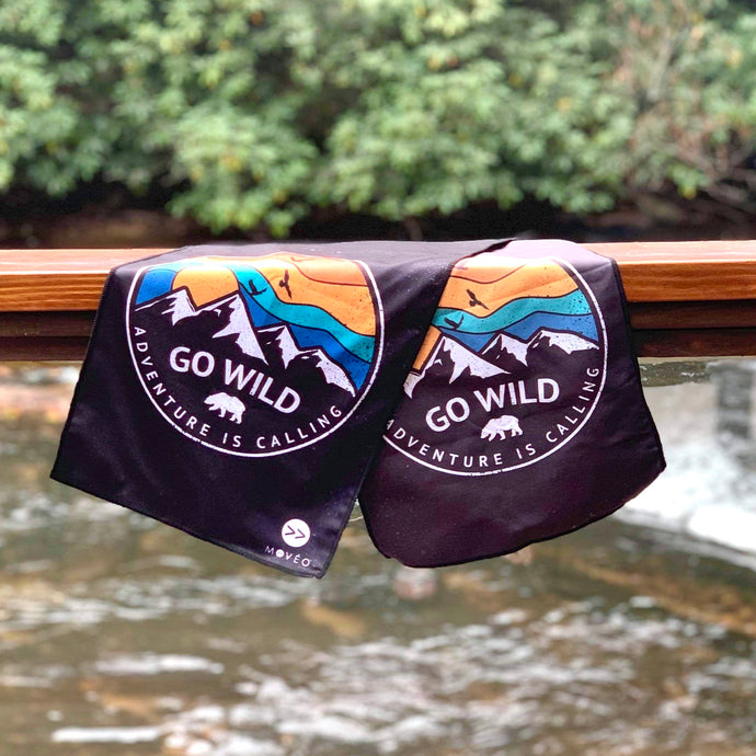 Go Wild Adventure Dual Sided Cooling Towel